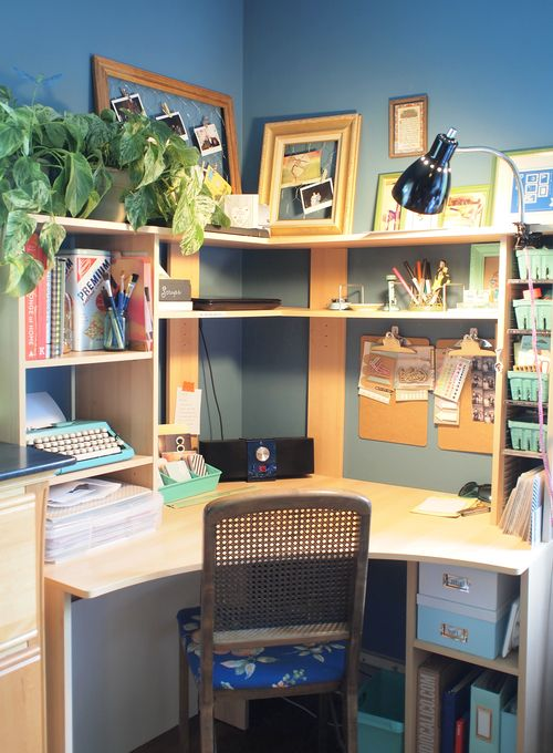 Ideas for desk organization leona lane - Desk organization ideas ...