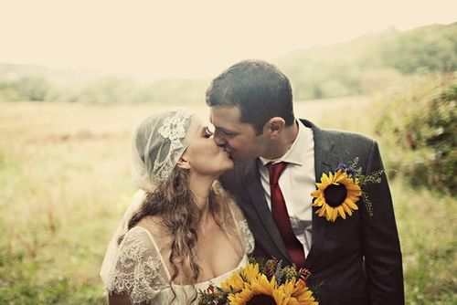 Sunflower boutonnierre