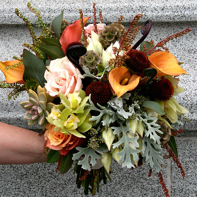 Inspired by Fall Flowers - Leona Lane
