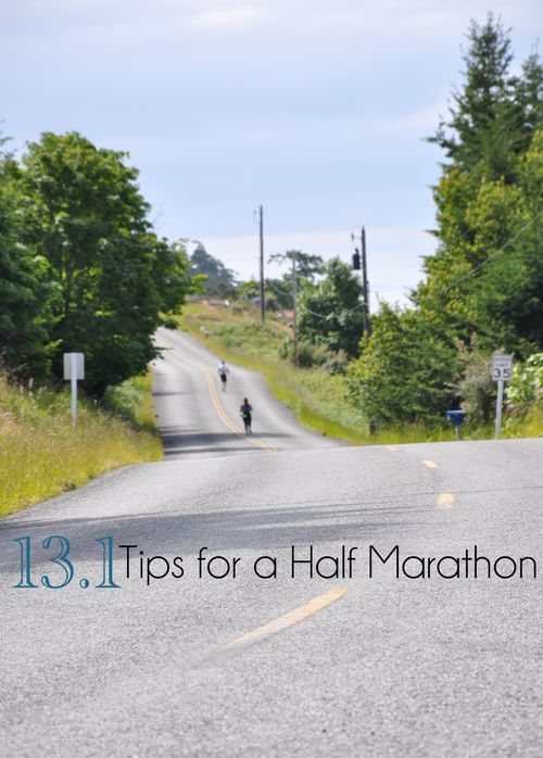 13.1 Tips for a Half Marathon