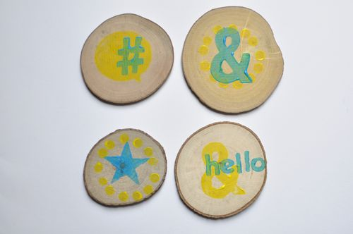 Stamped Magnets