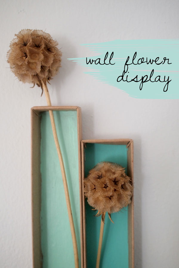 Wall-Flower-Display