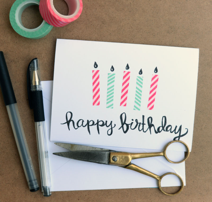 Card-with-Washi-Tape-Candles