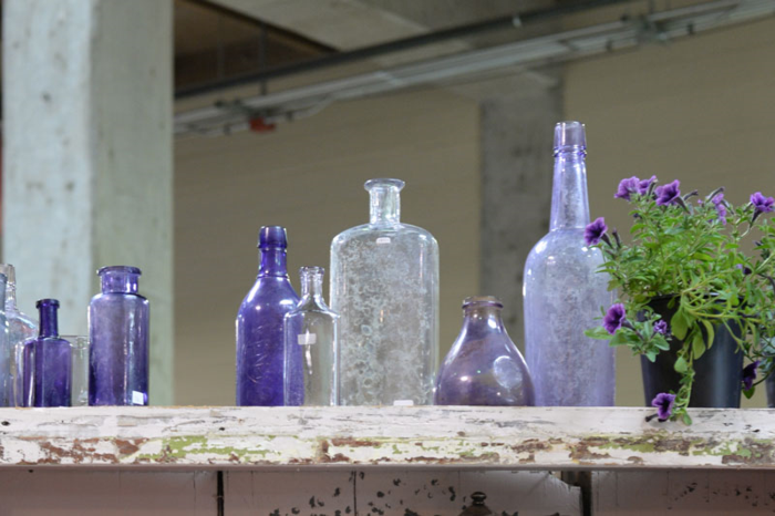 Purple-and-white-bottles