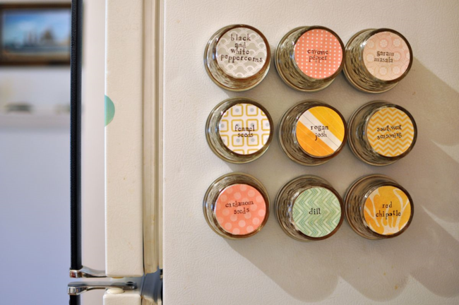 SPICE JAR MAGNETS