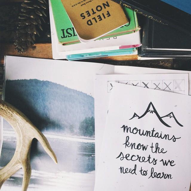 Mountains Know